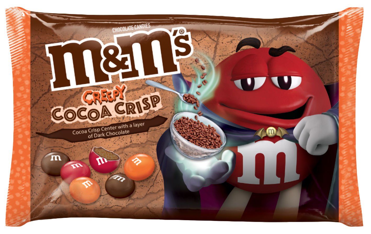 M&M's Creepy Cocoa Crisps